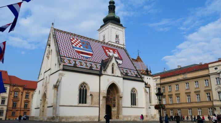 Portale della Chiesa di San Marco a Zagabria – gioiello dell'arte gotica