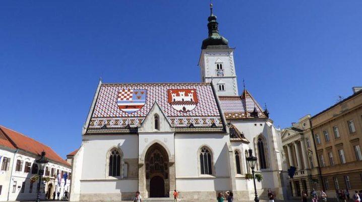 Chiesa di San Marco – chiesa la più colorata di Zagabria