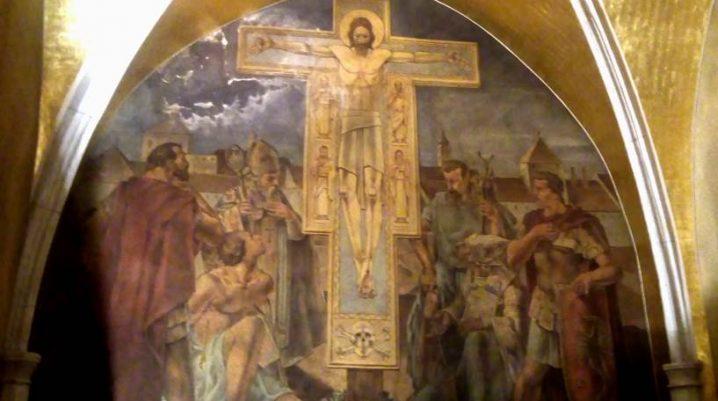 Cappella dei santi Sebastiano e Fabiano - gioielli nascosti della chiesa di san Marco